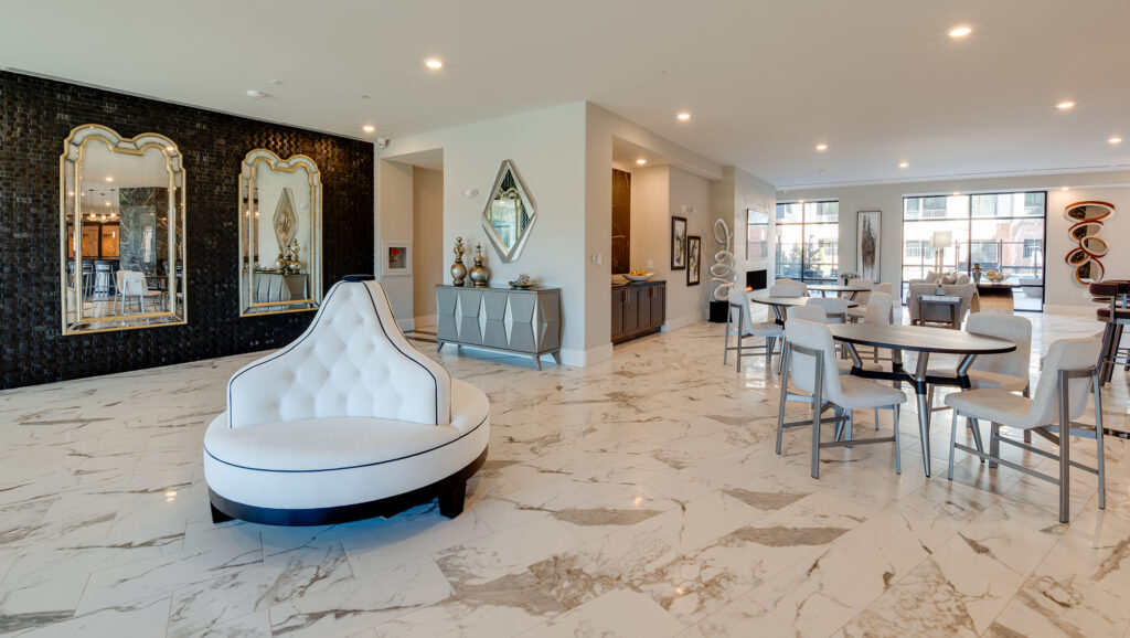 The Shirley Luxury Apartments Lobby